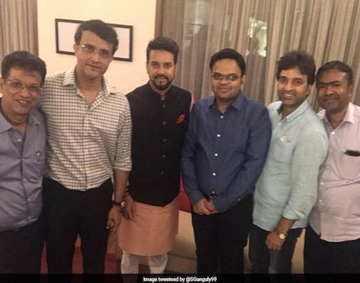 BCCI's 'New Team'. Photo Courtesy, Sourav Ganguly