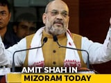 Video : Amit Shah In Mizoram Today To Discuss Citizenship Bill With State Leaders