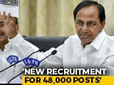 "Video : KCR Calls Transport Staff Strike ""Unpardonable Crime""; 48,000 Sacked"
