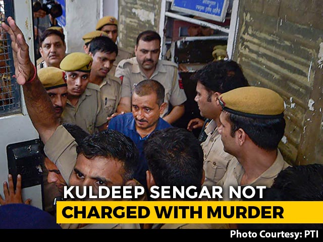 Video : Kuldeep Sengar Not Charged For Murder In Unnao Rape Survivor's Car Crash