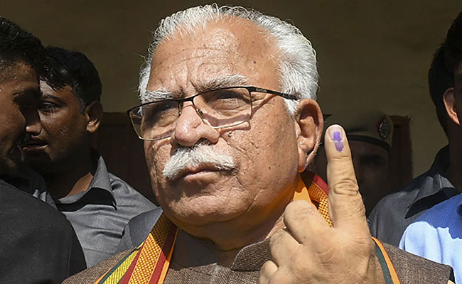 Haryana Government Has No Papers On Chief Minister's Citizenship: RTI
