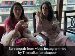 This Is What Karisma and Kareena Kapoor Gorged On Post Their Diwali Lunch