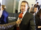 Video : #Just2Questions - Arnold Schwarzenegger On <i>Terminator: Dark Fate</i>
