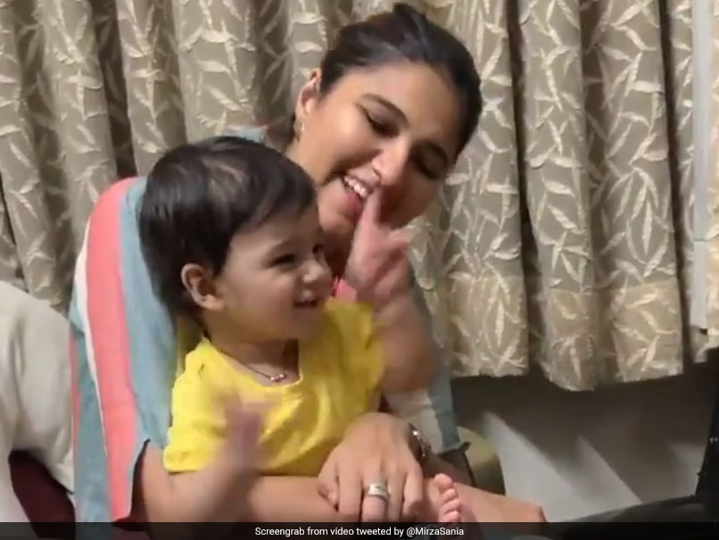 Sania Mirza Celebrates Son Izhaans First Birthday, Tweets Adorable Video Of Him Playing With Sister Anam