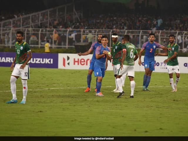 "Sunil Chhetri Says ""Dressing Room Is Disappointed"" After Indias Draw Against Bangladesh"