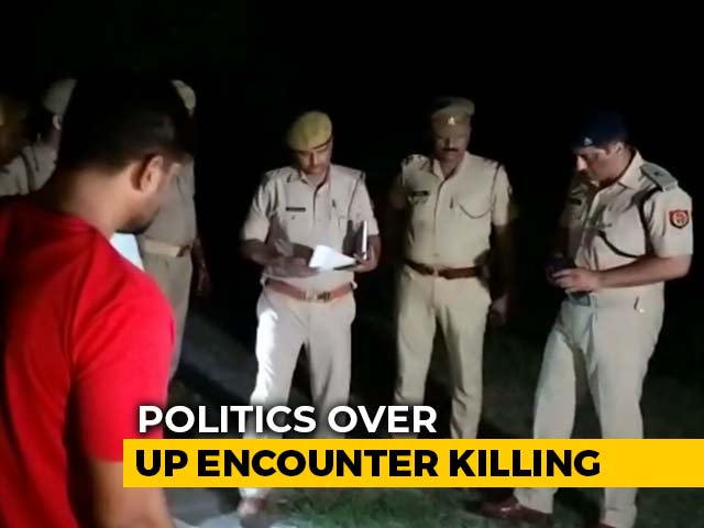 Video : Row Over UP Police Encounter, Akhilesh Yadav To Meet 28-Year-Old's Family Today