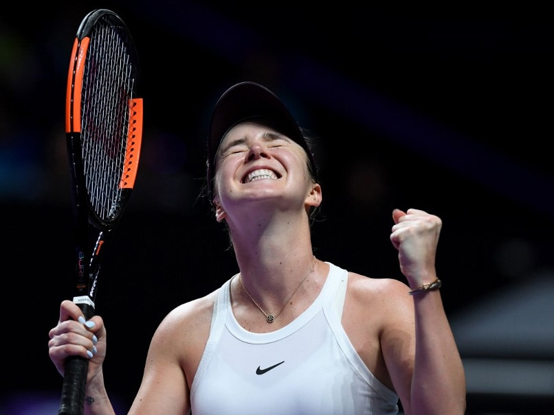WTA Finals: Elina Svitolina Hits Form To Storm Into Semis