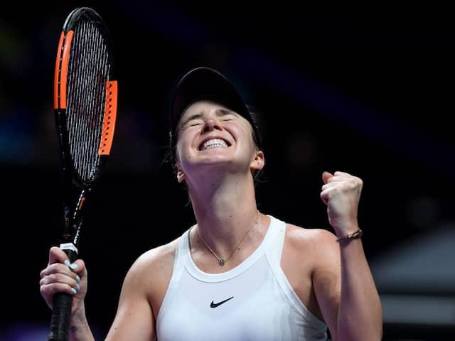 WTA Finals: Elina Svitolina Hits Form To Storm Into Semis