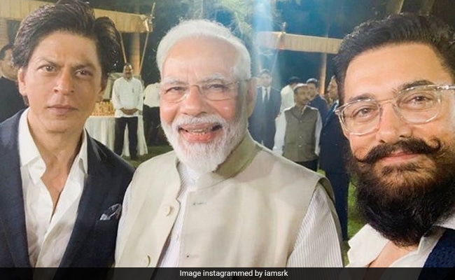 Shah Rukh Khan And Other Celebs Share Pics From Prime Minister Narendra Modi's Gandhi Event