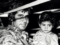 Shweta Bachchan's Caption Is Almost As Wonderful As Throwback Pic With Dad Amitabh Bachchan