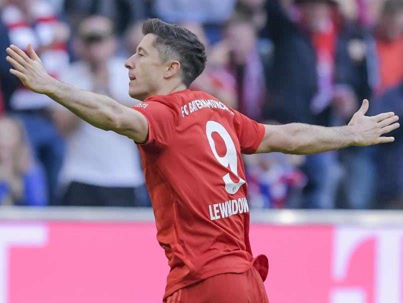 Bundesliga: Bayern Munich Go Top Of The Table As Robert Lewandowski Sets Bundesliga Record