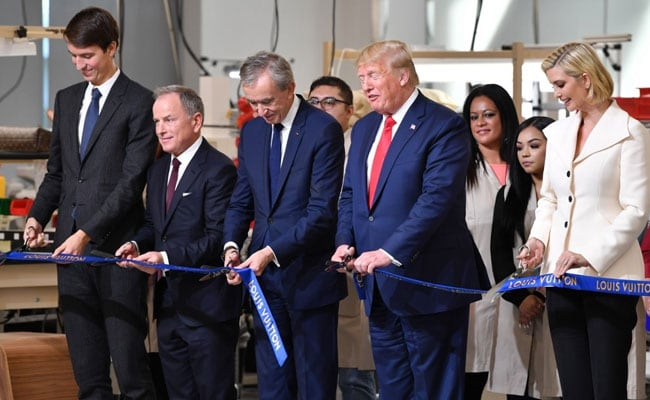 'You'll Be Very Happy': Donald Trump Inaugurates Louis Vuitton US Site