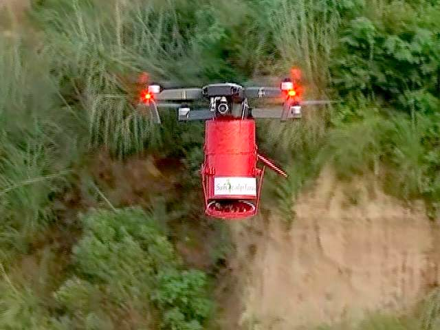 Video : Watch: This 'Seed-Bombing' Drone Will Help Plant More Trees