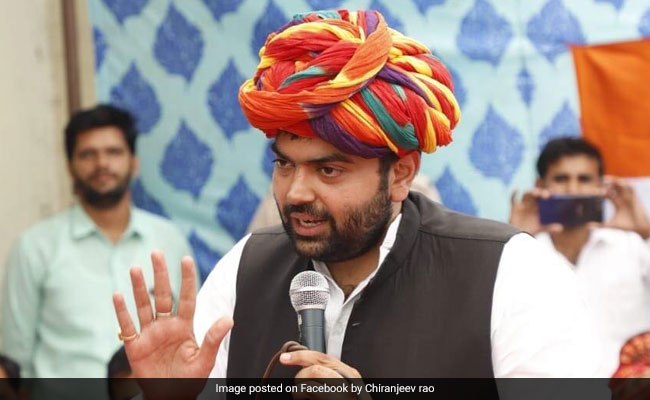 Won Seat Due To Hard Work Of Congress Workers, Says Lalu Yadav's Son-In-Law Chiranjeev Rao
