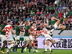 Rugby World Cup: South Africa End Japan
