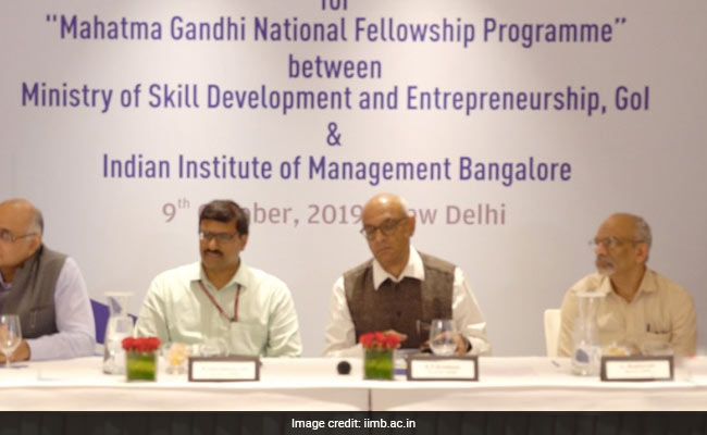 IIM Bangalore To Hone Skills Of Officials For State Schemes