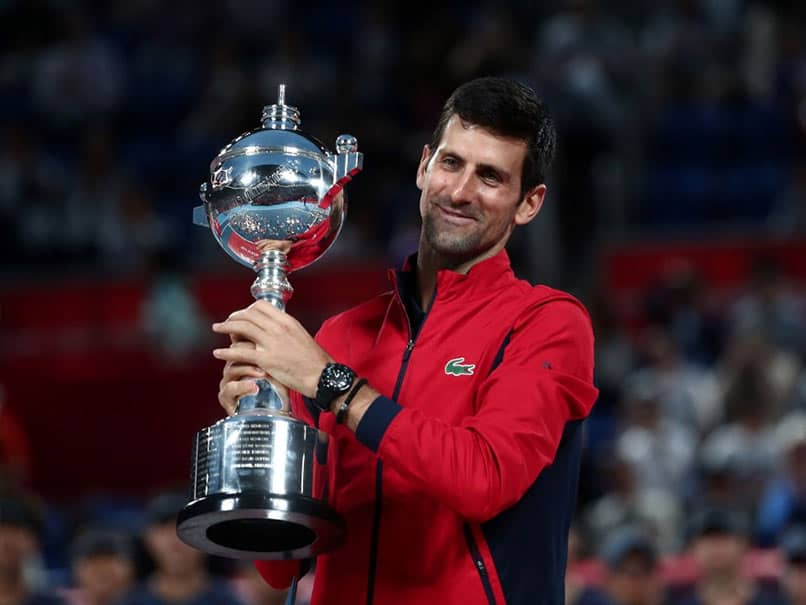 Novak Djokovic Crushes John Millman To Win Japan Open