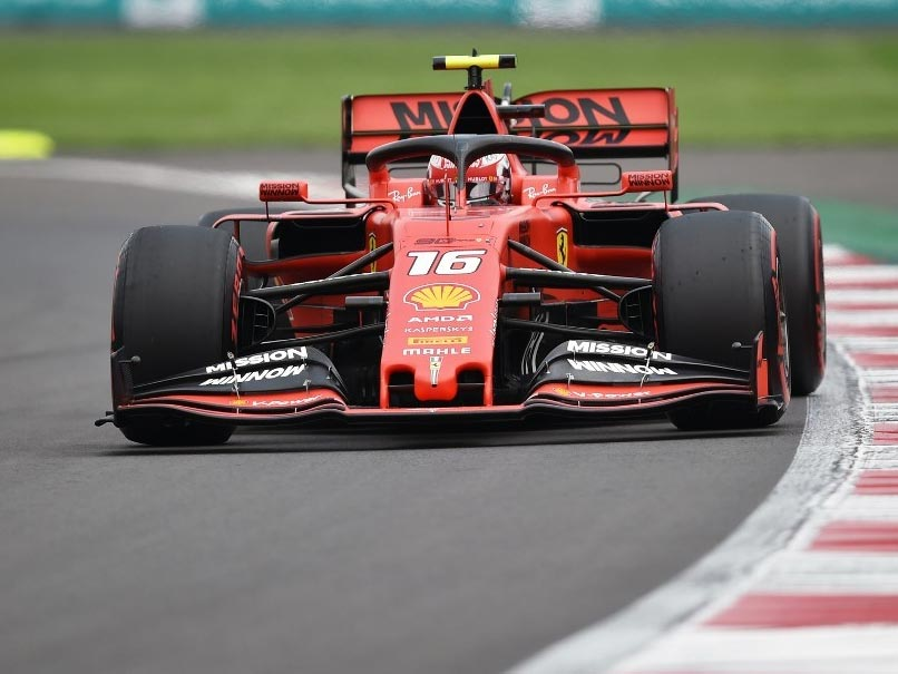Mexican Grand Prix: Charles LeClerc Takes Pole In Mexico As Max Verstappen Gets Grid Penalty