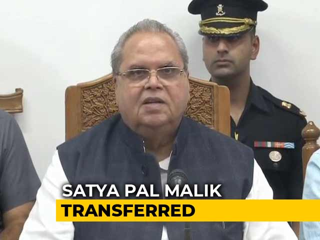 Video: GC Murmu Is J&K's First Lieutenant Governor, Satya Pal Malik Moved To Goa