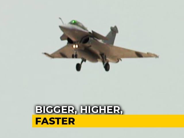 Video : Flying The Rafale Jet