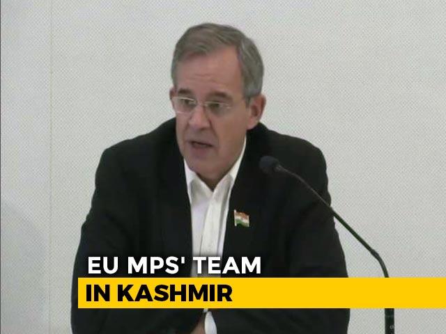 "Video : ""Terrorism Concern For All Of Us,"" Say EU Lawmakers After Kashmir Visit"