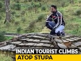 Video : Indian Tourist On Camera Climbing Stupa In Bhutan Sparks Anger