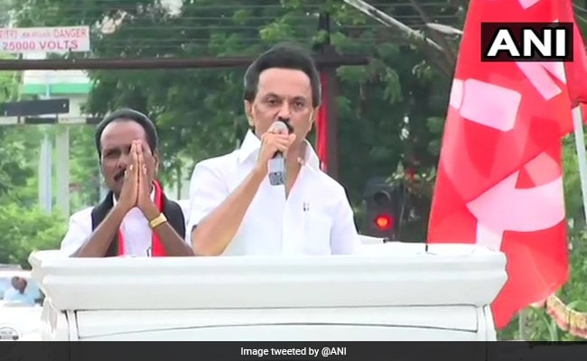 Law And Order Worst Under AIADMK Rule: MK Stalin