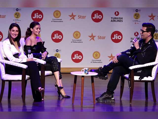 Karan Johar, Alia Bhatt, Kareena Kapoor At Jio MAMI Movie Mela 2019