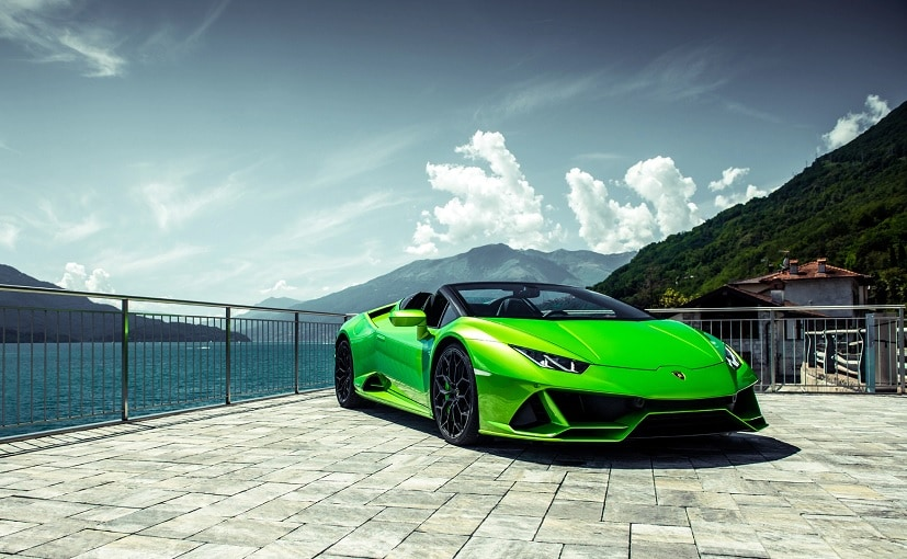 The new drop-top Lamborghini Hurcan Evo is slated to be launched in India on October 10