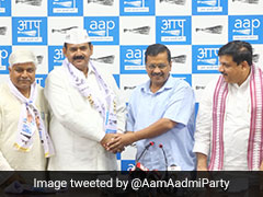 Former Leader Of Mayawati's Party Joins AAP In Arvind Kejriwal's Presence