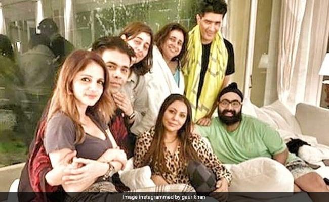 Shah Rukh Khan, Gauri And Karan Johar's Weekend Diaries Be Like
