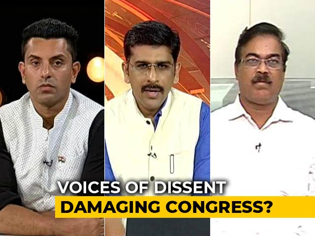 Video : Congress Battles Defections, Infighting