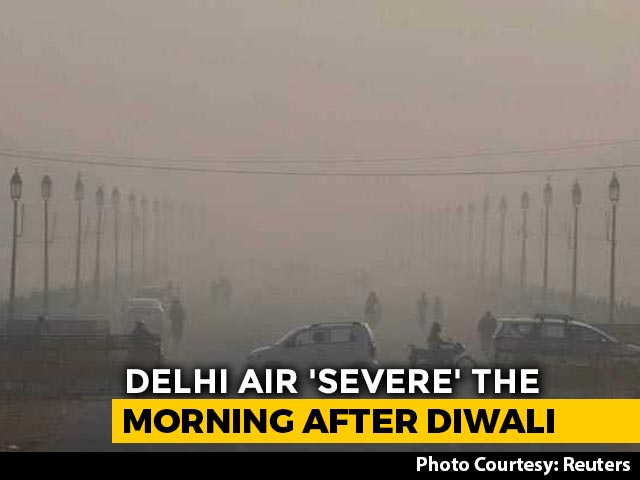 Video : Delhi's Air Quality Slips Post-Diwali, But Better Than Last 3 Years