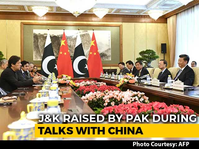 Video : Kashmir In Focus As Imran Khan, Xi Jinping Meet, Beijing Cites UN Charter