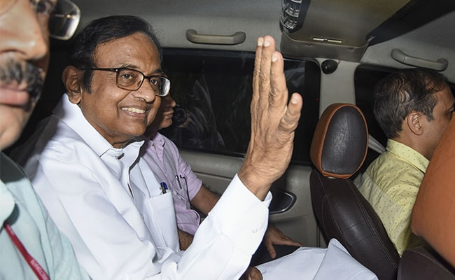 Probe Agency To Quiz P Chidambaram In Tihar On November 22, 23