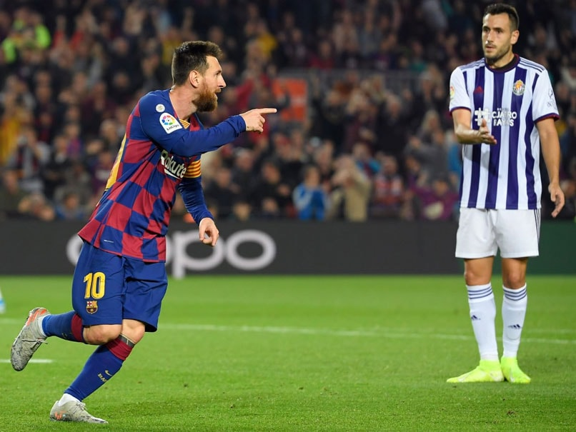 Lionel Messi Fit And Firing In Barcelona Demolition Of Real Valladolid