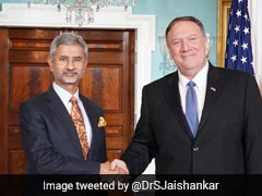 "S Jaishankar Confident India, US Will ""Find A Fix"" To Trade Disputes"