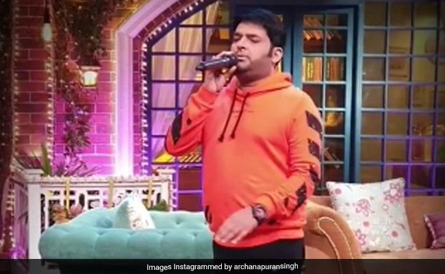 कपिल शर्मा ने अर्चना पूरण सिंह के लिए गाया गाना 'हमें तुमसे प्यार कितना...', मिला ये रिएक्शन- देखें Video