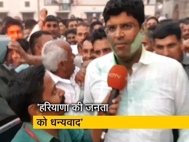 Videos : दुष्यंत चौटाला ने कहा- पार्टी को समर्थन देने के मु्द्दे पर दिल्ली जाकर निर्णय लिया जाएगा