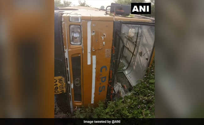 School Bus Overturns In Madhya Pradesh, 22 Students Injured