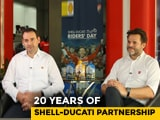 Video : In Conversation With: Ducati India MD And Shell India CMO