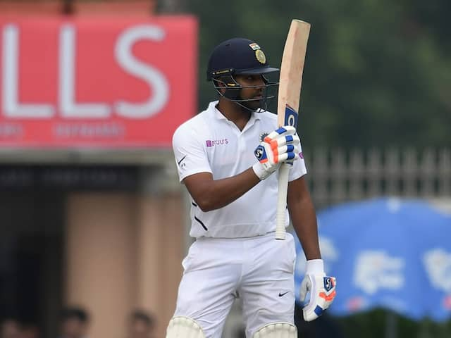 Rohit Sharma Equals Sunil Gavaskars Record With 3rd Ton Of Test Series
