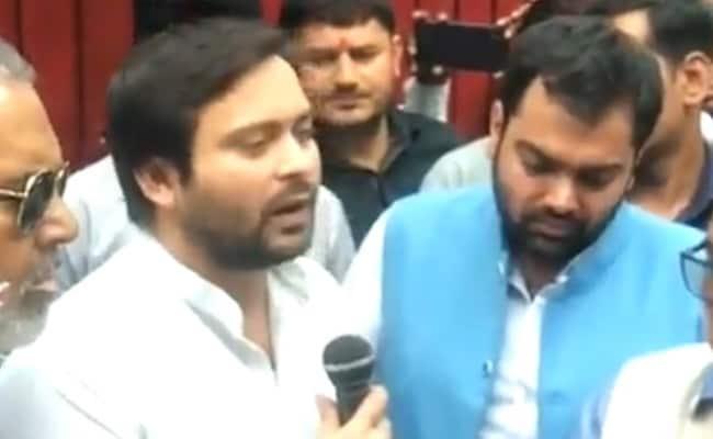 बिहार विधानसभा उपचुनावों नतीजों के बाद तेजस्वी यादव ने कहा- एनडीए को सबक सिखाने के लिए...
