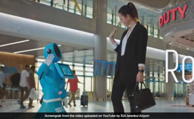 Turkey Turns To Humanoid Robots For Istanbul's New Airport