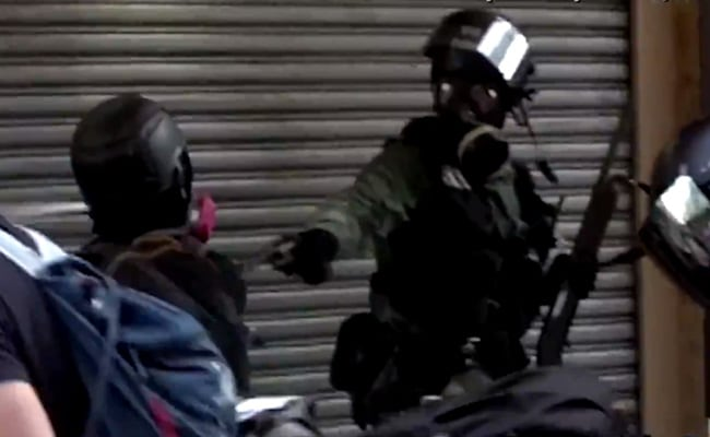Dramatic Footage Captures Moment When Hong Kong Teen Protester Was Shot