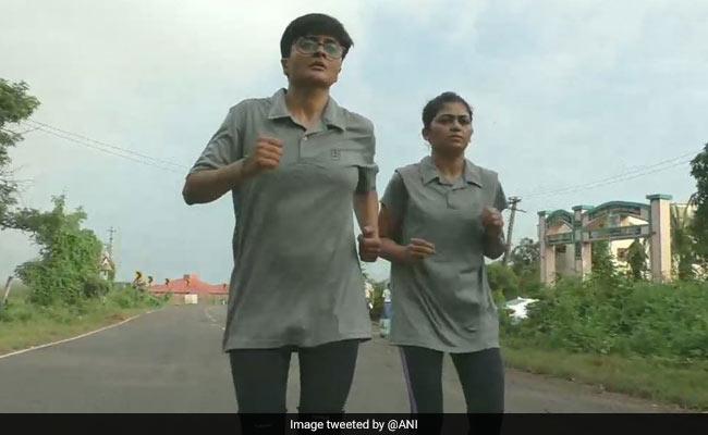 2 Gujarat Women Run Backward For 13 Hours, Eye Guinness Record