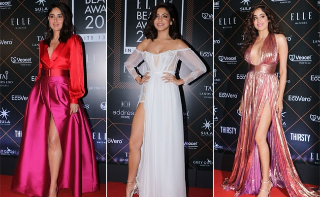 Elle Beauty Awards 2019: Kareena Kapoor, Anushka Sharma, Janhvi Kapoor And Others Dazzle On Red Carpet