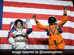 NASA Unveils Spacesuit To Be Worn By First Woman On Moon