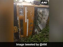 School Bus Overturns In Madhya Pradesh, 22 Students Injured