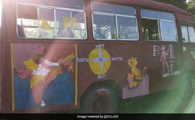 'Classroom On Wheels' In Arunachal District Is Getting Students To School